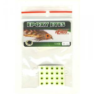 Bilde av Epoxy Eyes 3,6mm 10 fluo yellow