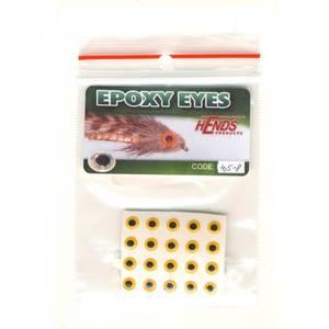 Bilde av Epoxy Eyes 4,5mm 08 yellow