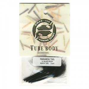 Bilde av Marabou Tail 12 - black / black