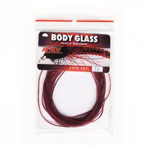 Bilde av Body Glass Half Round 37 claret